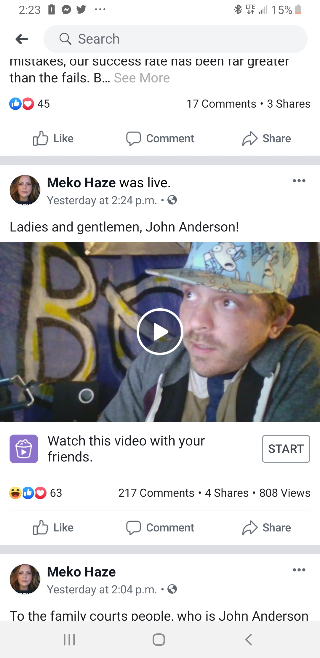 Meko Haze Openly Aids Pedophiles By Attacking Those Who Exposed Them