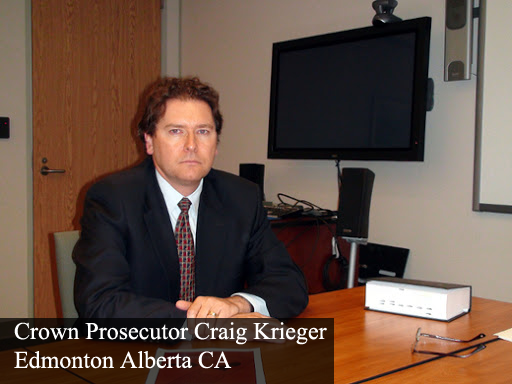 Remove Craig Krieger Edmonton Crown Prosecutor